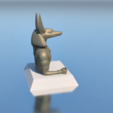 Download STL file PENCIL HOLDER, ANUBIS, 3Diego