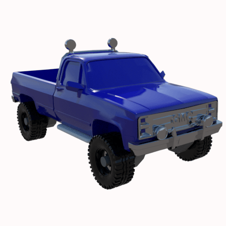 2.png Download STL file gmc sierra truck • Template to 3D print, 3Diego