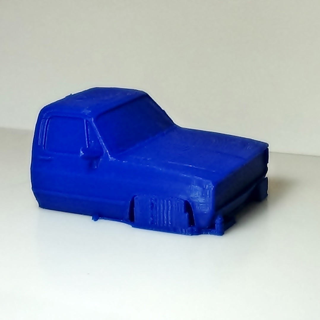 DSC01655.JPG Download STL file gmc sierra truck • Template to 3D print, 3Diego