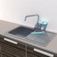 Download 3D printer files Sponge and towel holder, 3Diego