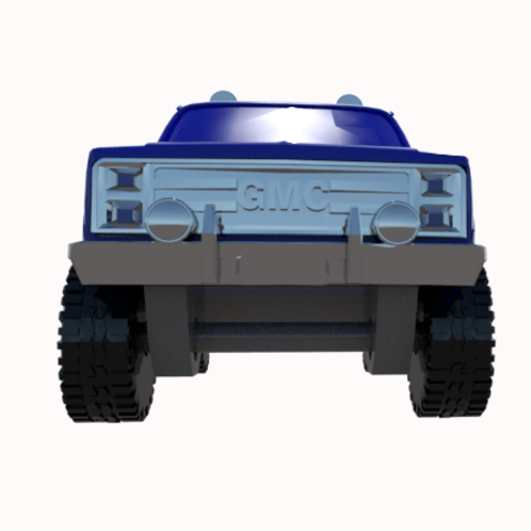 3.png Download STL file gmc sierra truck • Template to 3D print, 3Diego