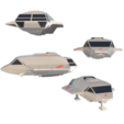 Descargar STL Skyfighter  -  T-47, 3Diego