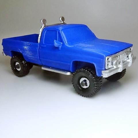DSC01687 - copia.JPG Download STL file gmc sierra truck • Template to 3D print, 3Diego