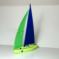3D printer models sailboat, 3Diego