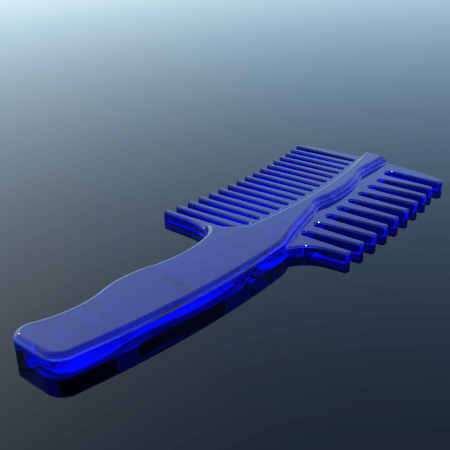 4.png Download STL file comb • 3D printing object, 3Diego