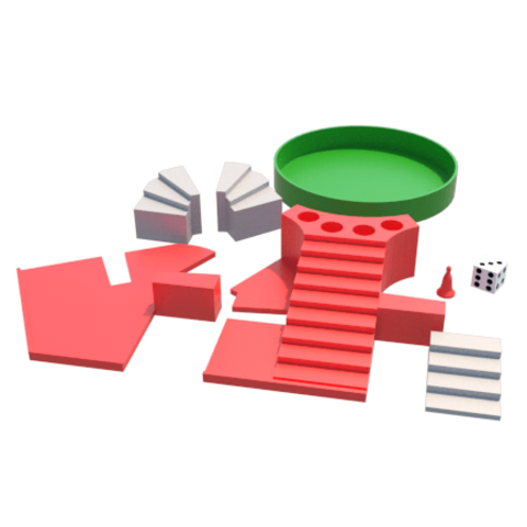 l.png Download STL file Parchis of 6 seats, Ludo king • 3D printable object, 3Diego
