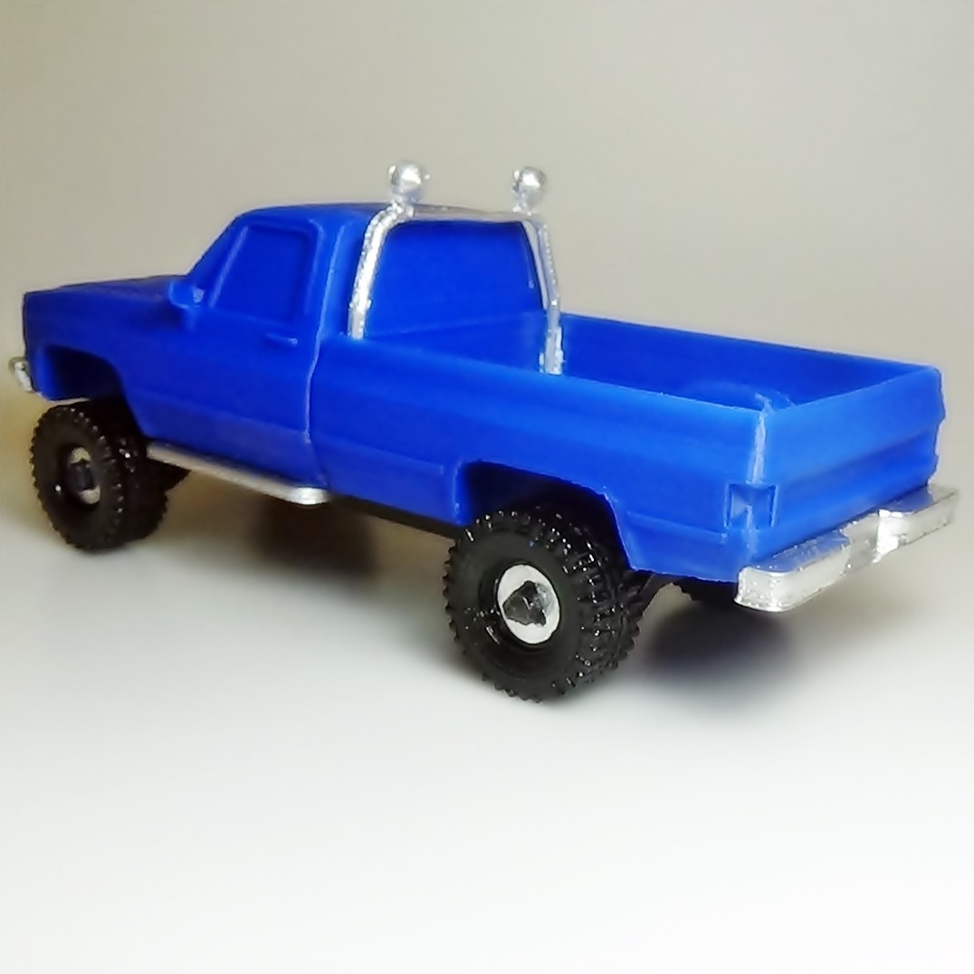 DSC01684 - copia.JPG Download STL file gmc sierra truck • Template to 3D print, 3Diego