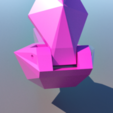 10.png Download STL file Lemon squeezer. LOW POLY • Object to 3D print, 3Diego