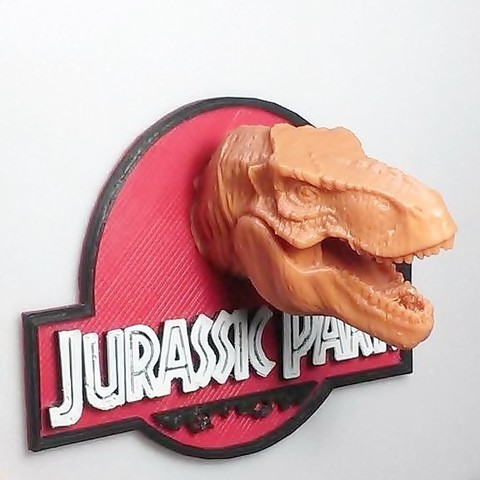Download 3D printing templates Jurassic park, 3Diego