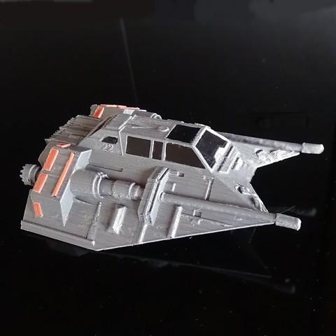 DSC02023.JPG Download STL file Skyfighter - T-47 • 3D printer model, 3Diego