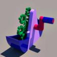 Download free STL file bubble machine, 3Diego
