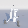 Archivos STL gato con botas, 3Diego