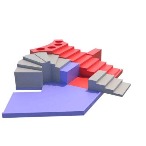 j.png Download STL file Parchis of 6 seats, Ludo king • 3D printable object, 3Diego