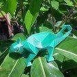 3D printer file CHAMELEON LOW POLY, diegoholguin