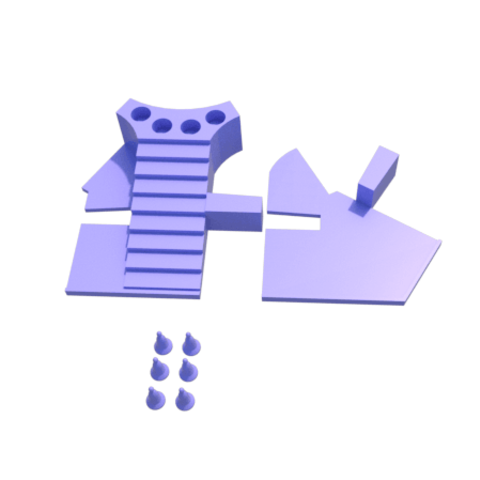 g.png Download STL file Parchis of 6 seats, Ludo king • 3D printable object, 3Diego