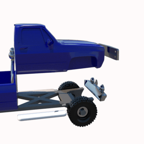 12.png Download STL file gmc sierra truck • Template to 3D print, 3Diego