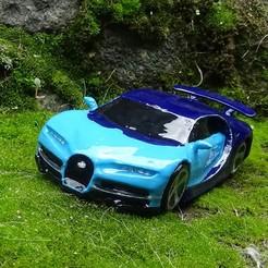4.JPG Télécharger fichier STL Bugatti chiron • Modèle à imprimer en 3D, 3Diego