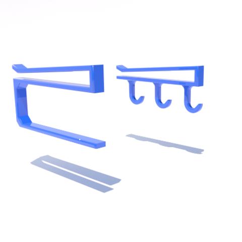 Free 3d printer files Kitchen paper holder, 3Diego