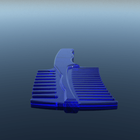 2.png Download STL file comb • 3D printing object, 3Diego