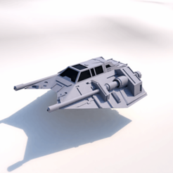 3D printer models SHIP T-47 STAR WARS, 3Diego