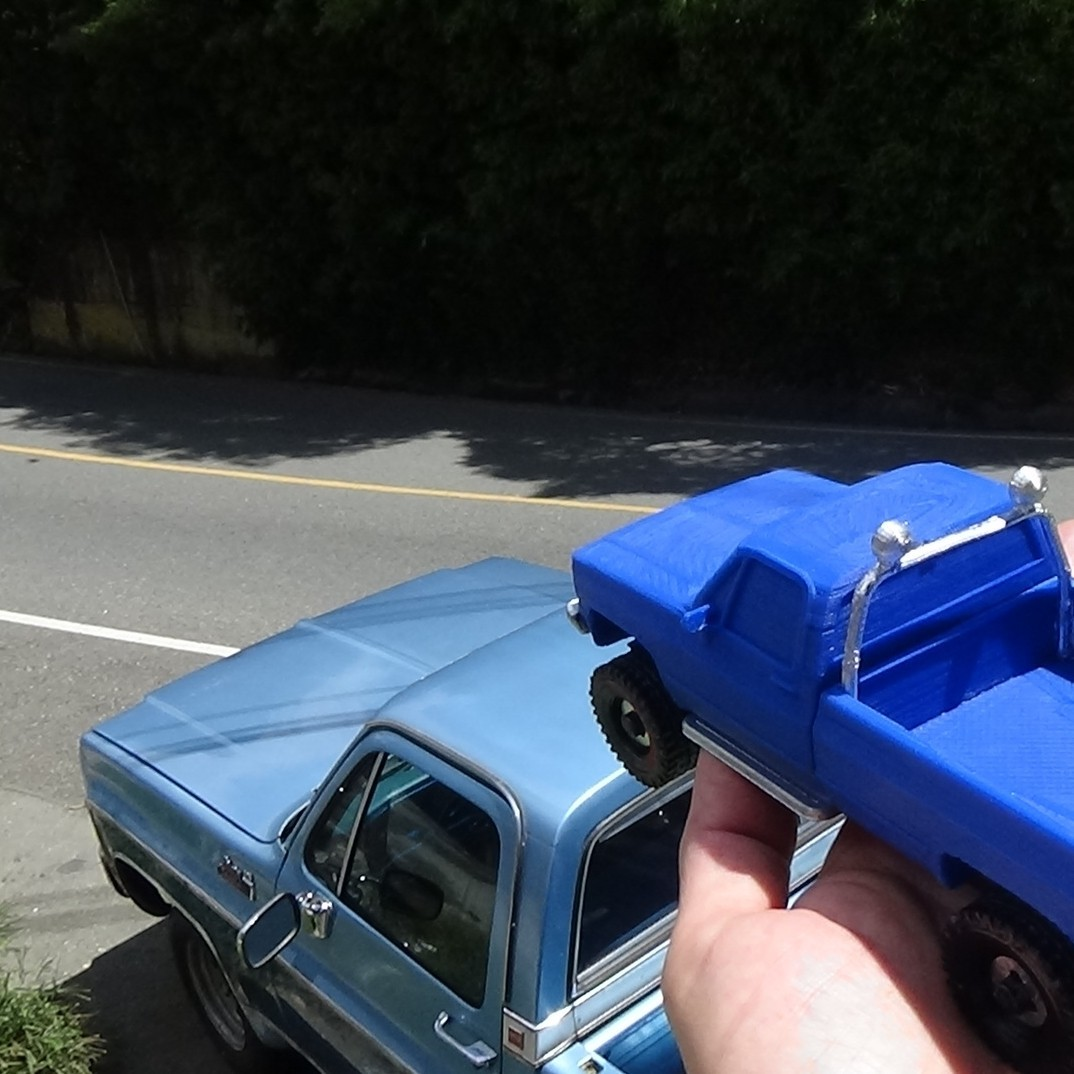 DSC01697.JPG Download STL file gmc sierra truck • Template to 3D print, 3Diego