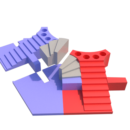 i.png Download STL file Parchis of 6 seats, Ludo king • 3D printable object, 3Diego