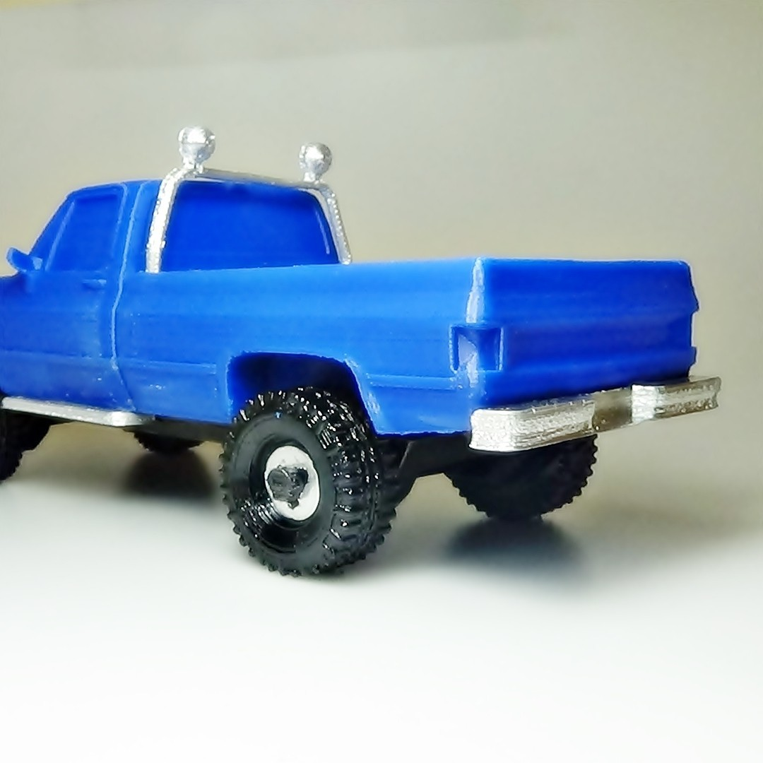 DSC01672 - copia.JPG Download STL file gmc sierra truck • Template to 3D print, 3Diego