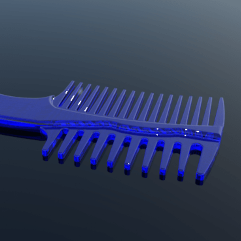 3.png Download STL file comb • 3D printing object, 3Diego