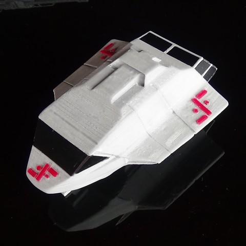 DSC02018.JPG Download STL file Skyfighter - T-47 • 3D printer model, 3Diego