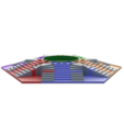 Télécharger modèle 3D Parchis de 6 places, roi Ludo, 3Diego