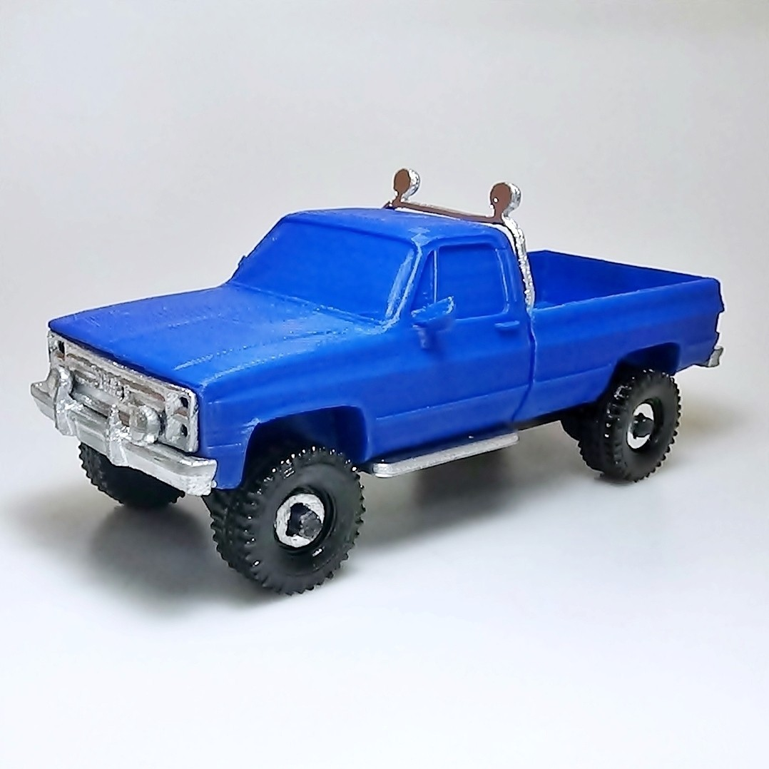 DSC01688 - copia.JPG Download STL file gmc sierra truck • Template to 3D print, 3Diego