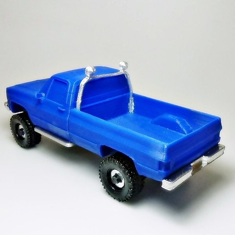 DSC01673 - copia.JPG Download STL file gmc sierra truck • Template to 3D print, 3Diego