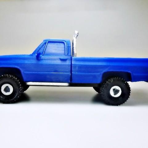 DSC01671 - copia.JPG Download STL file gmc sierra truck • Template to 3D print, 3Diego