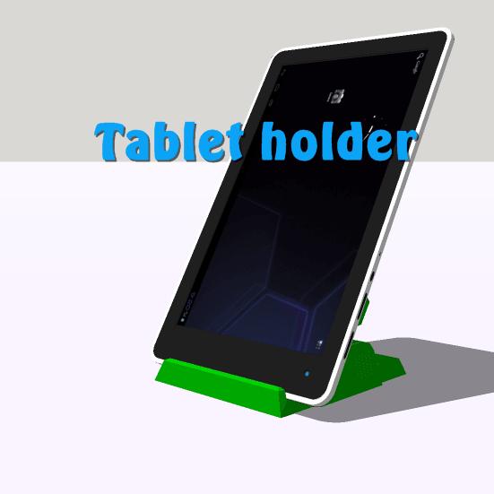cam.tablet2.png Download STL file Phone holder, Tablet support • 3D print design, 3Diego