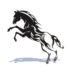 Download 3D printing templates horse wall art, 3Diego