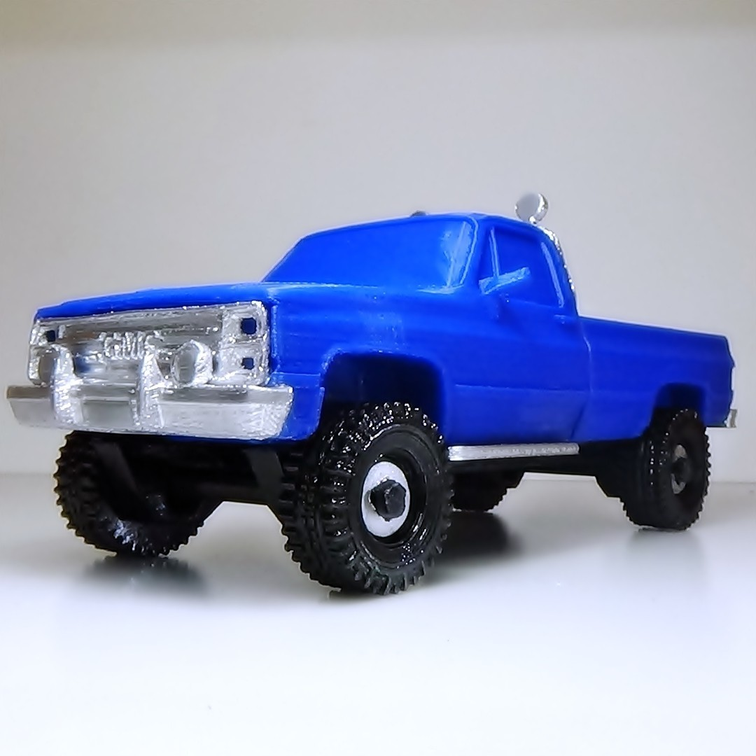 DSC01667 - copia.JPG Download STL file gmc sierra truck • Template to 3D print, 3Diego