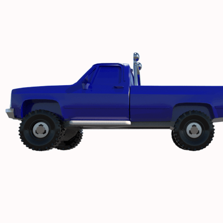 5.png Download STL file gmc sierra truck • Template to 3D print, 3Diego