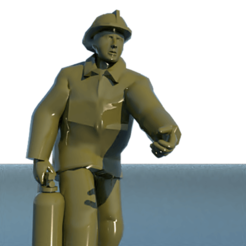 3D printer models Firefighter, 3Diego