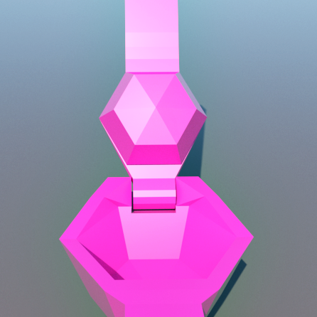 9a.png Download STL file Lemon squeezer. LOW POLY • Object to 3D print, 3Diego
