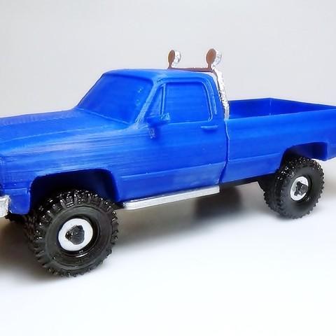 DSC01690.JPG Download STL file gmc sierra truck • Template to 3D print, 3Diego