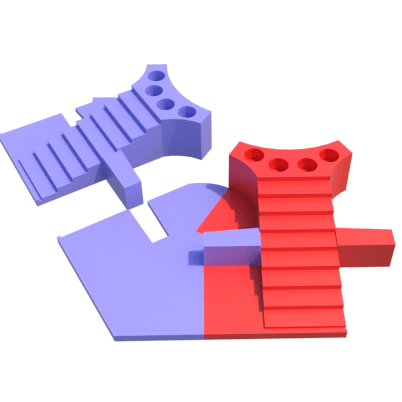 h.png Download STL file Parchis of 6 seats, Ludo king • 3D printable object, 3Diego