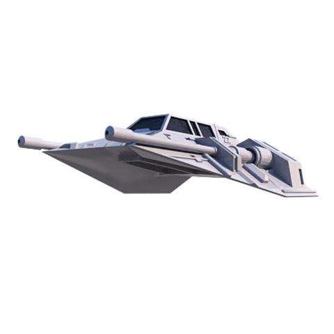 9.png Download STL file Skyfighter - T-47 • 3D printer model, 3Diego