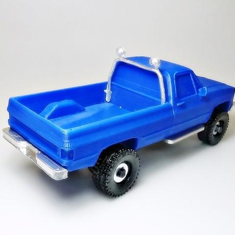 DSC01675 - copia.JPG Download STL file gmc sierra truck • Template to 3D print, 3Diego