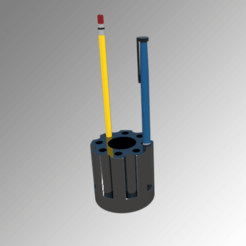 3D print files Pencil pot, 3Diego