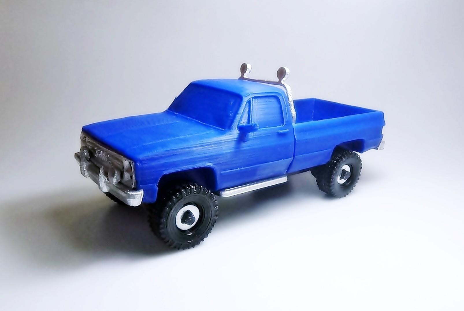 DSC01682 - copia.JPG Download STL file gmc sierra truck • Template to 3D print, 3Diego