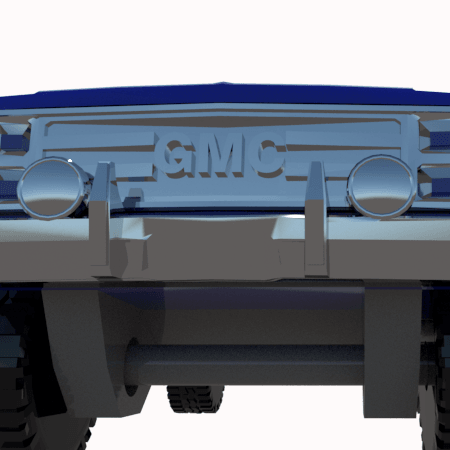 8.png Download STL file gmc sierra truck • Template to 3D print, 3Diego