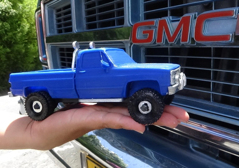 DSC01694.JPG Download STL file gmc sierra truck • Template to 3D print, 3Diego