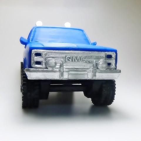 DSC01680.JPG Download STL file gmc sierra truck • Template to 3D print, 3Diego