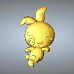 Free 3D printer files QA TYPE ZODIAC PENDANT 4 HARE, 3D_Dragon