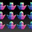 Download 3D printer files Zodiac Gold Ingot Edition ALL, 3D_Dragon